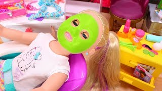 American Girl Doll Toy Spa Play Set Haul Unboxing & Review