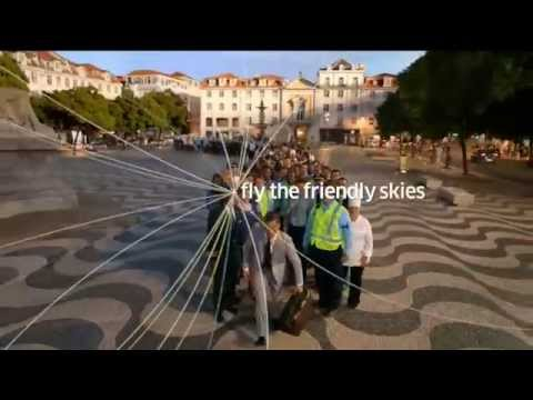 Holiday Commercial - United Airlines - Globe Surfing - Fly The Friendly Skies