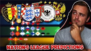 My UEFA Nations League 2018/19 MATCHDAY/GAMEWEEK 3 PREDICTIONS!