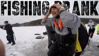 HUGE Pike Fishing Prank!?