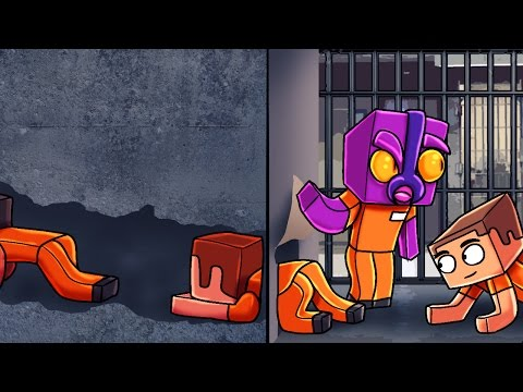 Minecraft | Prison Life - SECRET WAY TO ESCAPE! (Jail Break in Minecraft) #8