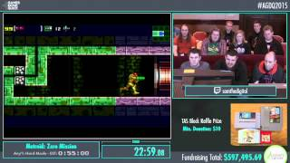 Awesome Games Done Quick 2015 - Part 151 - Metroid: Zero Mission by samthedigital