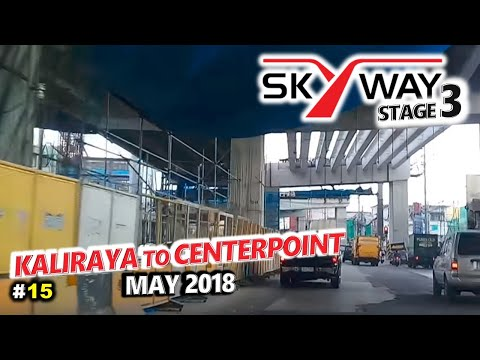 METRO MANILA SKYWAY STAGE 3  Update 15 🚗 Tatalon, Quezon City to N Domingo, San Juan🚗 City Tour