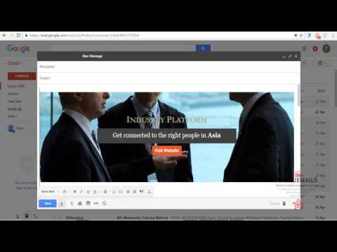 How To Insert Email Html Template Code Into Gmail