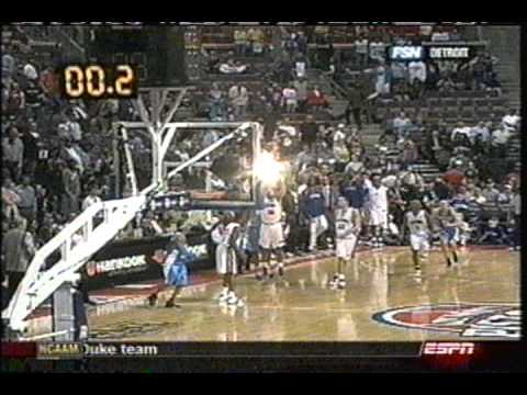Rasheed Wallace's Half-Court Buzzer Beater (Sportscenter Footage)