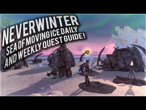 Neverwinter: Sea of Moving Ice Daily and weekly quest guide