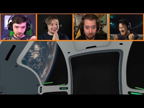 Let's Players Reaction To Leaving The Planet | Subnautica