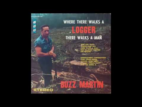 Buzz Martin  Used Log Truck 1960s Country Blues