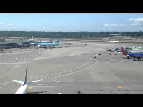 Seattle-Tacoma International Airport Time-Lapse