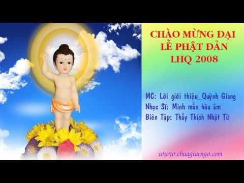 Lời giới thiệu album Chào mừng đại lễ Phật đản LHQ 2008