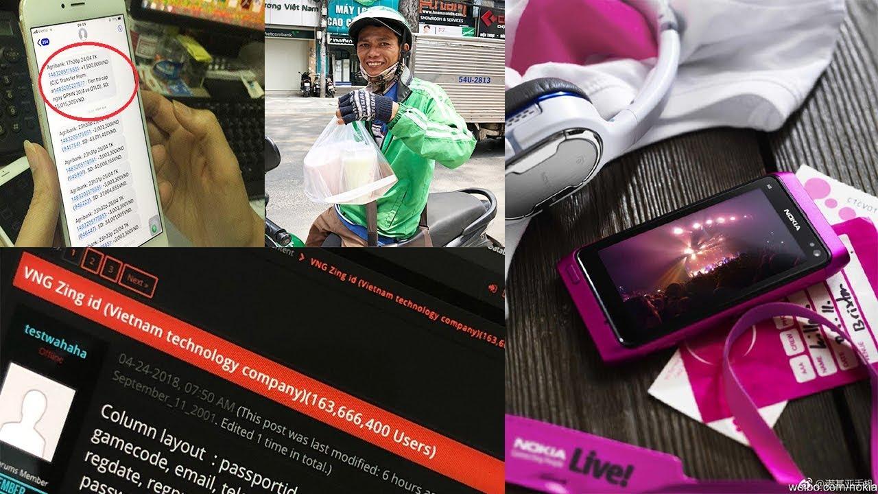 160 triệu ZING ID bị hack, Nokia N8 hồi sinh, lý do trăm tài khoản bị hack ở ATM, GrabFood xuất hiện
