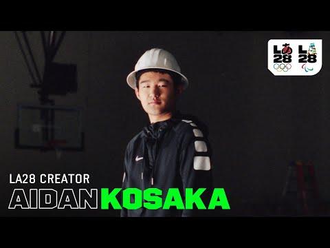 Aidan Kosaka | LA28 Creator