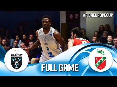 LIVE  - Z Mobile Prishtina v Pinar Karsiyaka - FIBA Europe Cup 2019