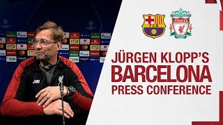 Jürgen Klopp and Sadio Mane's pre-match press conference | Barcelona