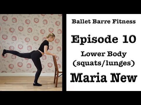 Ballet Barre Fitness Episode 10 | Lower Body | Fitness workout 2020
