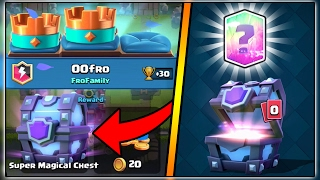 HOW TO GET A FREE SUPER MAGICAL CHEST IN CLASH ROYALE | FREE LEGENDARY CARD