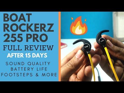 BOAT ROCKERZ 255 PRO/255F PRO REVIEW AFTER 15 DAYS