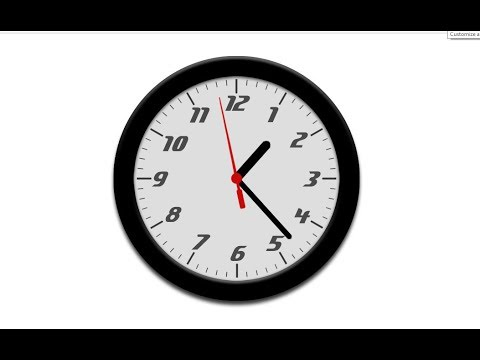 CSS Clock With HTML,CSS And Jquery