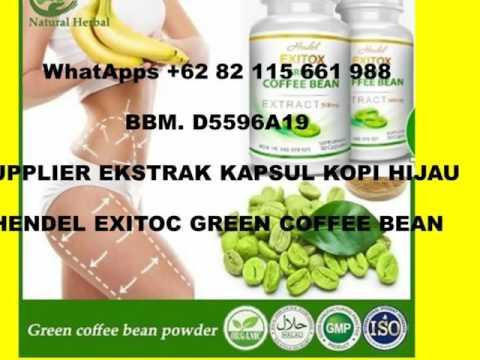 WhatApps +62 82 115 661 988, PENJUAL KAPSUL EKSTRAK KOPI HIJAU, EXITOX GREEN COFFEE BEAN EXTRACT