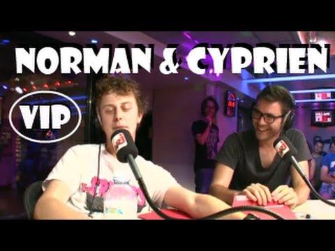 NORMAN et CYPRIEN -  Sites X et battle d'imitations sur NRJ