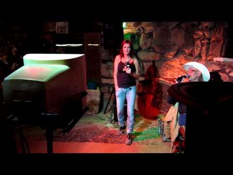 Rhonda Singing Karaoke at La Kiva 11202012 MVI 4490