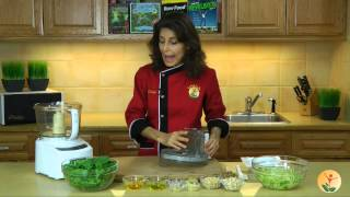 Raw Food Recipe: How To Make Dairy-free Pesto