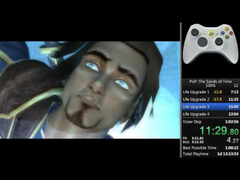 Prince of Persia Sands of Time All Collectibles 1:01:29 [WR]