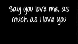 Die In your Arms- Justin Bieber Lyrics On Screen HD
