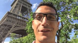 The Eiffel Tower (Paris) - Simple Programmer European Tour 2015