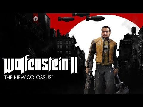 [18+] Шон играет в Wolfenstein II: The New Colossus 1 из 2 (Nintendo Switch, 2018)
