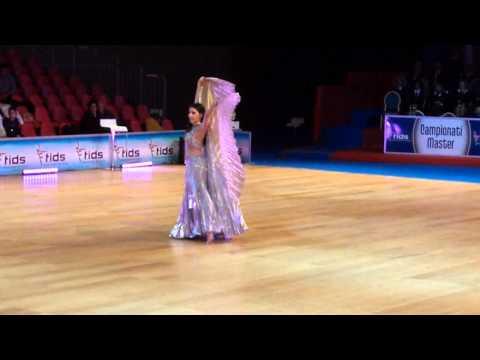 Emanuela Suanno, 1° Classificata Campionati Italiani Master 2014- cat Show Oriental Dance