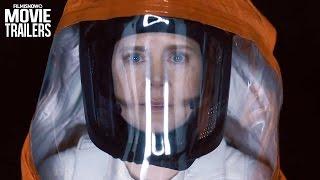 Amy Adams speaks to aliens in ARRIVAL