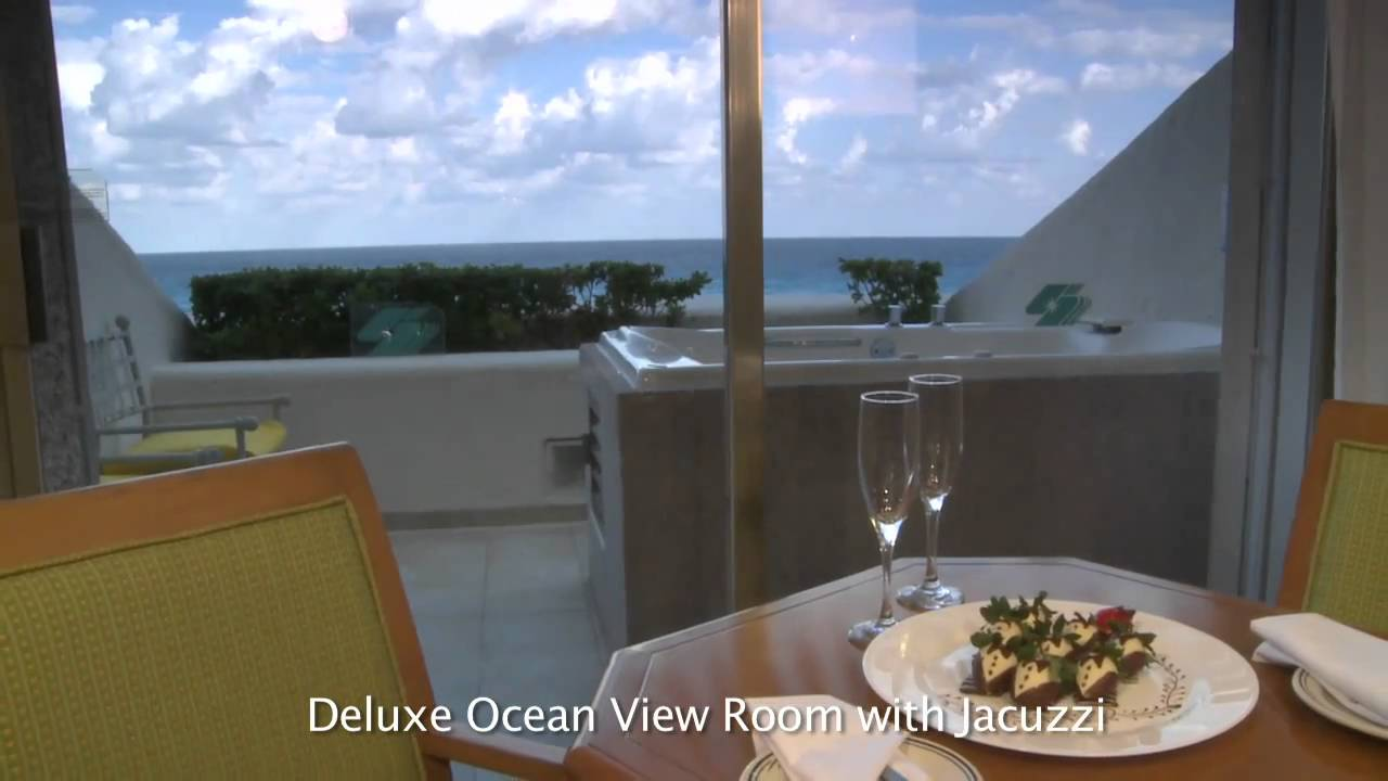 Royal Solaris Cancun Deluxe Ocean View Room With Jacuzzi