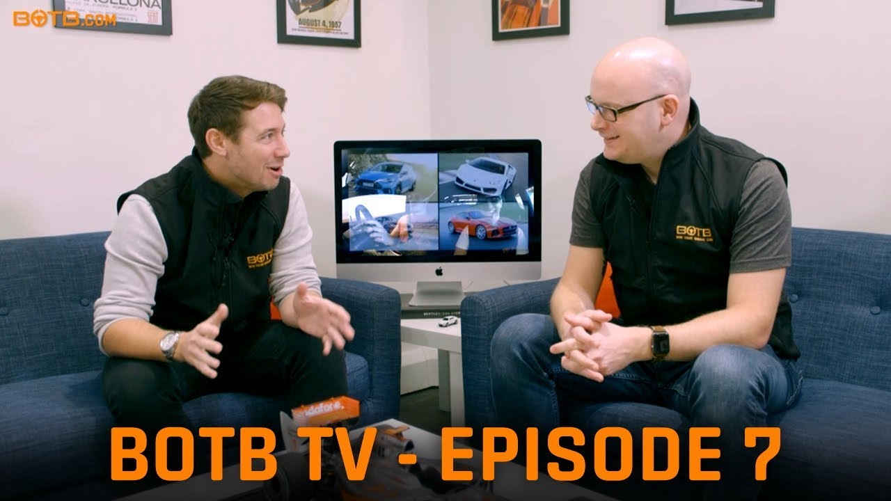 BOTB TV Episode 7 - Latest car news including the Lamborghini Huracan and BMW 8 Series!