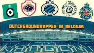 GroundHop In Belgium : Club Brugge, Cercle Brugge, Waasland-Beveren, Lokeren, Antwerp FC & KAA Gent.