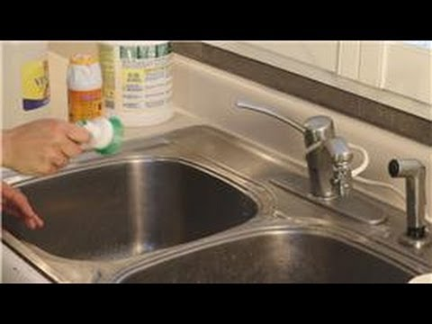 Kitchen Cleaning : How to Remove Rust Stains From a Faucet - YouTube