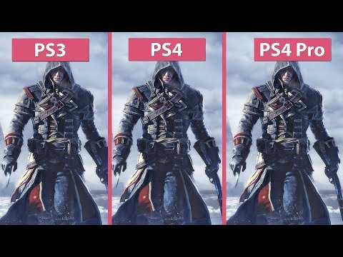 [4K] Assassin's Creed Rogue – Original PS3 vs. PS4 and PS4 Pro Remastered Graphics Comparison