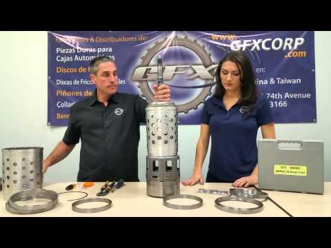 Фото к видео: GFX ZF 8HP45, 8HP55, 8HP70 Aluminum Rings