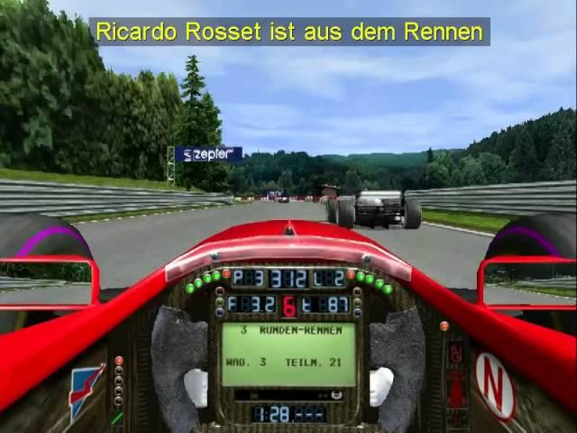 Grand Prix 3 - Spa - Schnelles Rennen - Von 14 auf 1