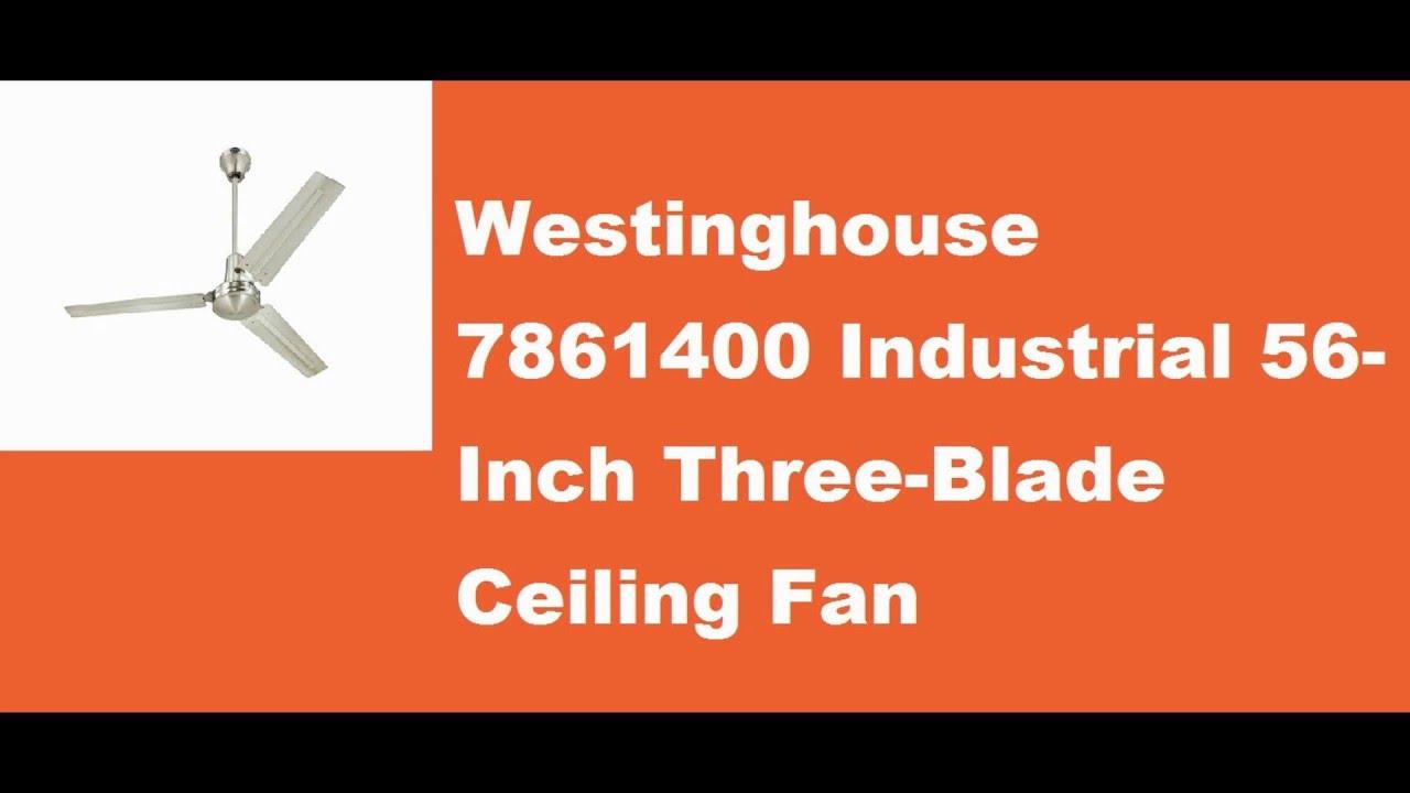 Westinghouse 7861400 Industrial 56 Inch Three Blade Ceiling Fan Wiring Diagram Photos