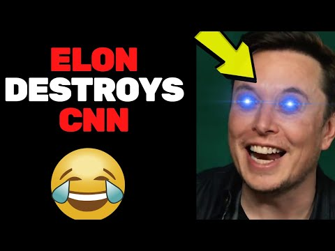 Elon Musk Just DESTROYED CNN..This Will Brighten Your Day