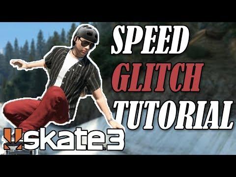 Skate 3: INSANE SPEED GLITCH TUTORIAL (Detailed)