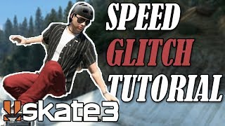 Skate 3: INSANE SPEED GLITCH TUTORIAL (Detailed)