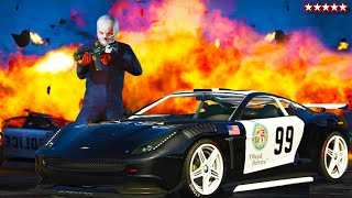 ? Super Busted with The Crew - GTA 5