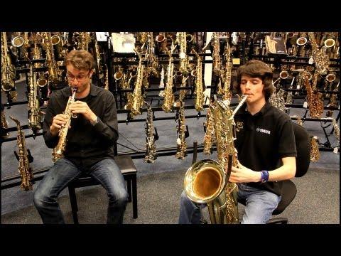 Sopranino & Bass Saxophone Duet