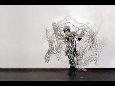 Hannah Quinlivan Artist Talk 'Still Motion' March 2015 Flinders Lane Gallery
