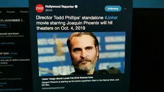 Joaquin Phoenix's Joker Movie Gets Title and Release Date
