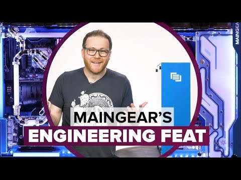 This Maingear PC might as well be from the future