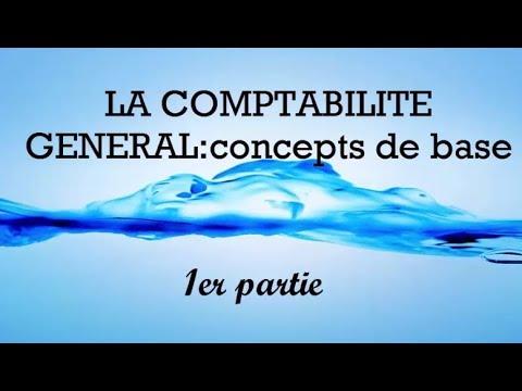 LA COMPTABILITE GENERAL:concepts de base  bi darija 1er partie