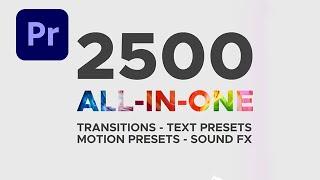 انتقالات حديثة احترافية لكافة نسخ الادوبي بريمير Transitions - Free Premiere Pro cc